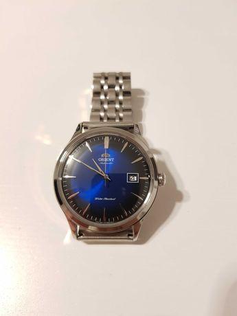 Zegarek Orient Bambino v4 Blue, niebieski, na gwarancji.