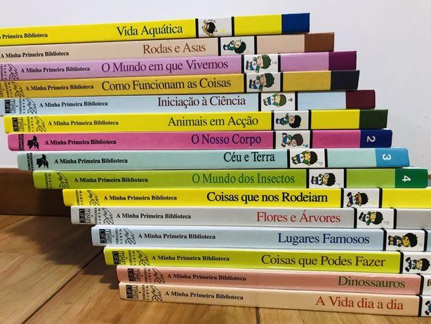 """""""A Minha Primeira Biblioteca"""" para Crianças"""