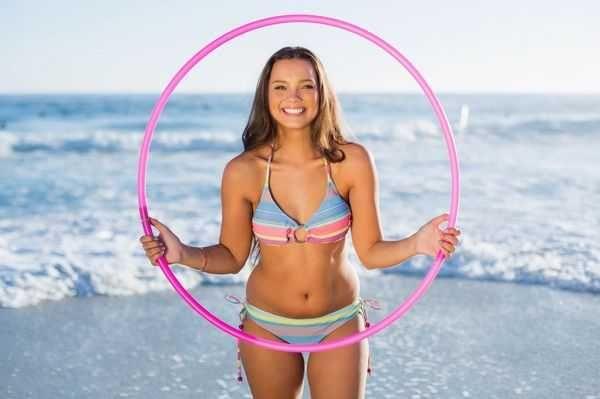 Эффективный Обруч для похудения хулахуп, Новый. вес 1кг Металл