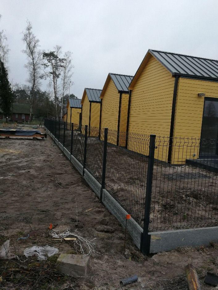 Ogrodzenia panelowe panele ogrodzeniowe słupek 60x40 Producent