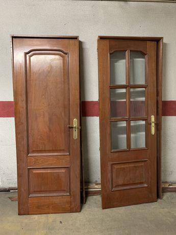 Portas interiores cerejeira