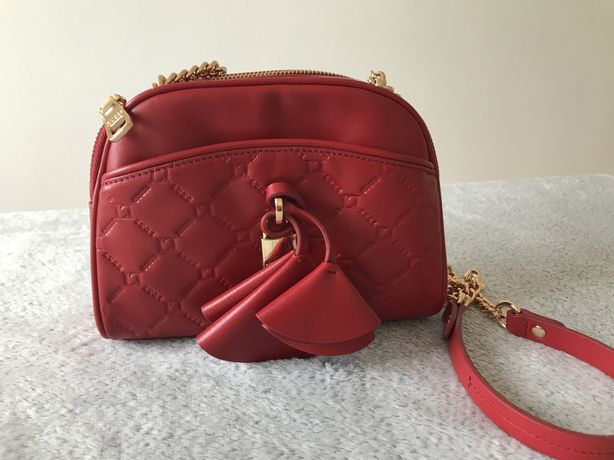 Guess Luxe  Cleo Quilted Leather Bag Mala Novo