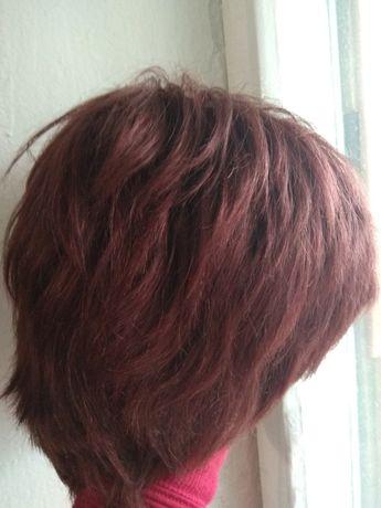 Парик. Натуральные волосы
