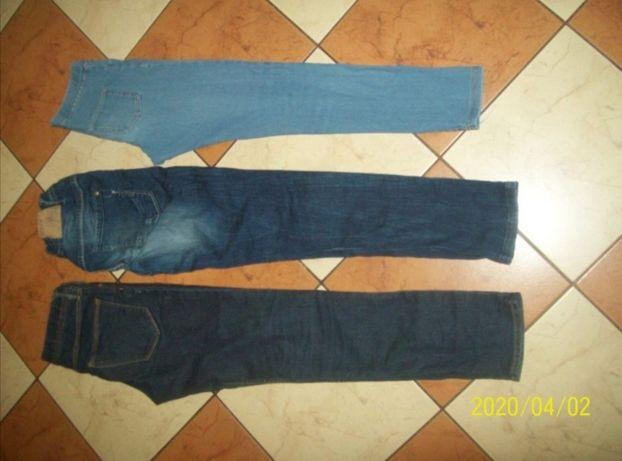H&m Skinny rurki i inne spodnie jeans rozm 146/152 3 sztuki