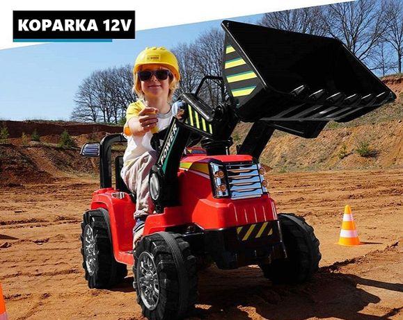 PROMOCJA! Traktorek / koparka na akumulator ZP1005 + PILOT MP3