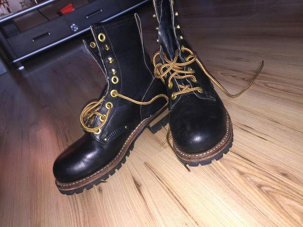 Skórzane buty Carolina