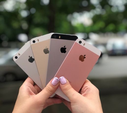 iPhone SE 16/32/64/128GB Space Gray/Rose Gold Neverlock Оригинал