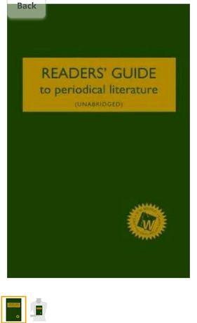 Справочник для читателей по периодической литературе 2012 г.