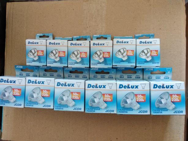 Галогенна лампа Delux JCDR 50Вт 6шт. Delux MR11
