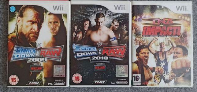 Zestaw gier Wii (SmackDown vs RAW, TNA)
