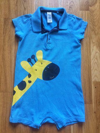 Ромпер, песочник Baby club 92 размер, костюм, набор, детский костюмчик