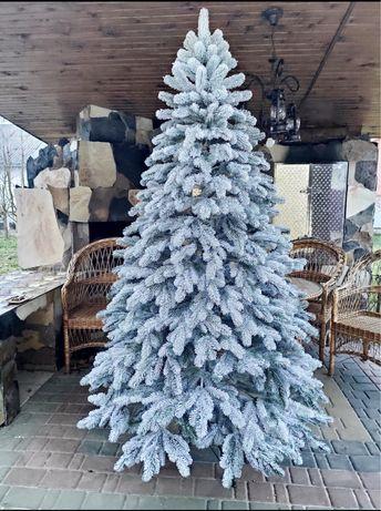 Неймовірно красива ялинка «Елітна»/ снежная елка/ ялинка засніжена