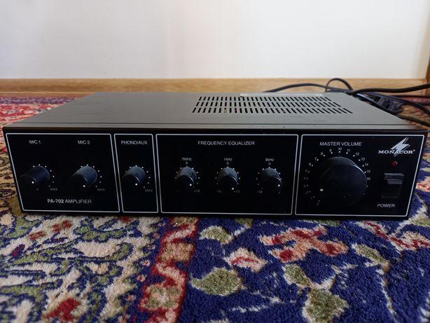 Amplifier monacor PA-702