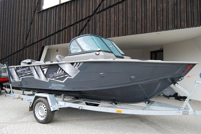 Алюминиевая моторная лодка Беркут M-Fisher