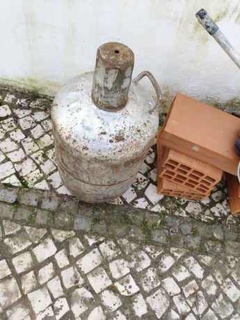 Botija de gás antiga