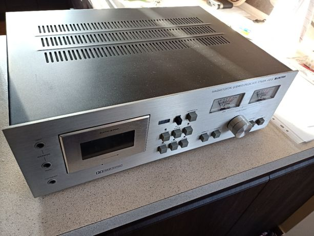 Unitra magnetofon stereo deck hi fi Etiuda 410 S rewelacyjny stan