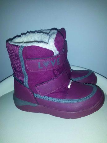 Śniegowce buty zimowe Lupilu dziewczynka r. 26