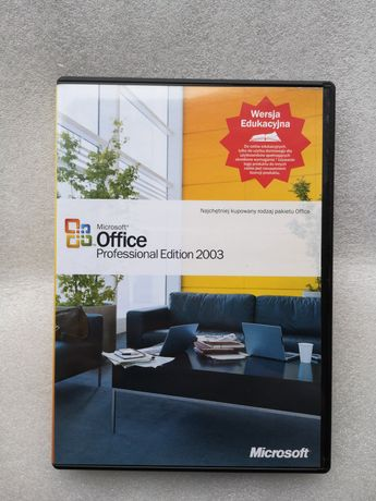 Microsoft Office 2003 Professional Edition.