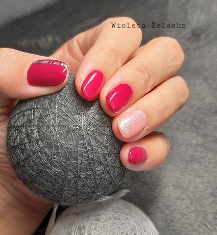 Manicure hybrydowy i przedlużanie żelem
