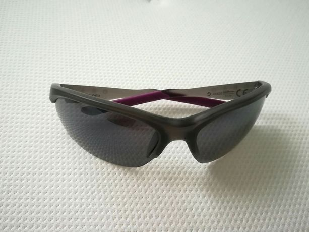 Sportowe okulary z filtrem UV + pokrowiec