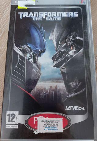 Gra na psp Transformers the Game