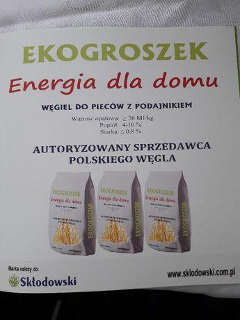 Węgiel Ekogroszek - worki