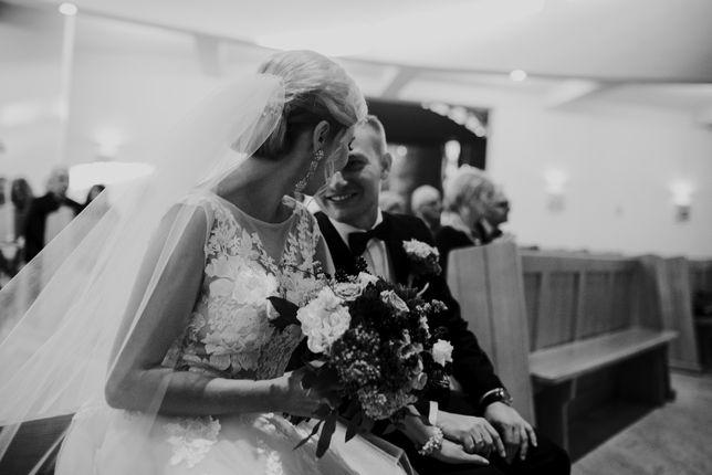Welon na ślub długi