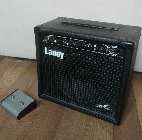 Wzmacniacz gitarowy piecyk LX35R - niesprawny, + Footswitch