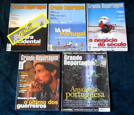 Revistas GRANDE REPORTAGEM (de 1998 a 2003)