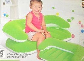 Надувной диван 70 см длина от 0 до 3 лет надувная игрушка