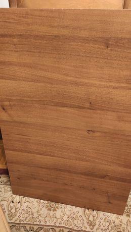 Stół rozkładany brązowy drewniany