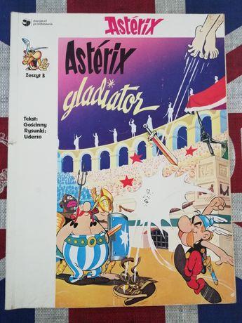 Komiks Asterix gladiator Zeszyt 3, 1wsze wydanie Egmont Poland!
