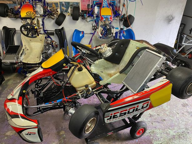 GoKart SHIFTER JESOLO VORTEX 125ccm biegowy spalinowy mocny