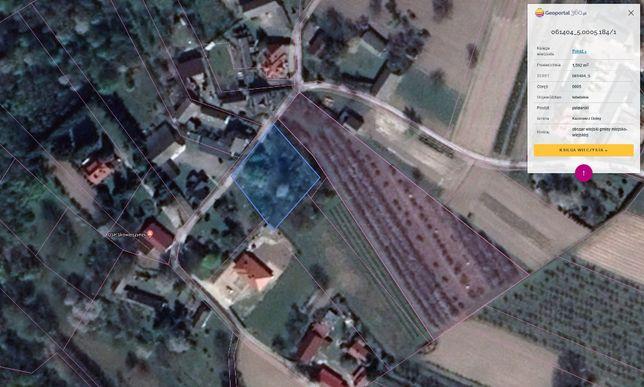 Działka Budowlana - 1592 m2 - Skowieszynek / Kazimierz Dolny