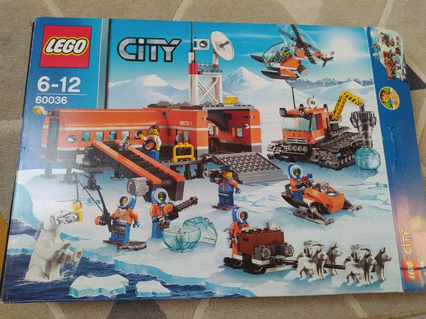 LEGO City 60036 Baza Arktyka