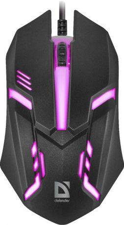 Миша Defender Cyber MB-560L USB Black