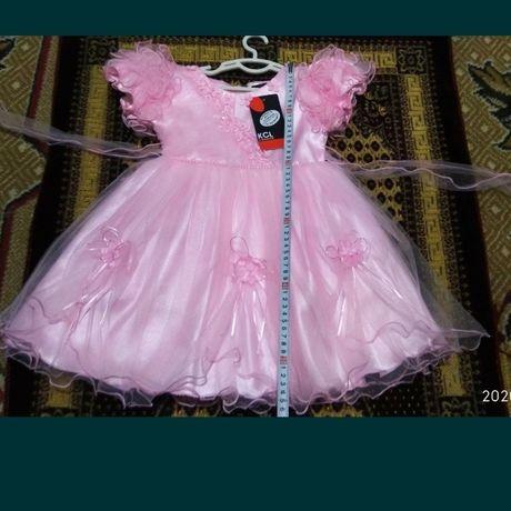 Новое Нарядное праздничное платье для девочки