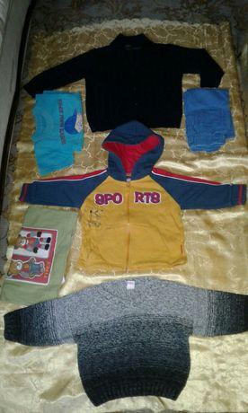 Пакетом детские вещи на 1-2-года.  Детская одежда! )