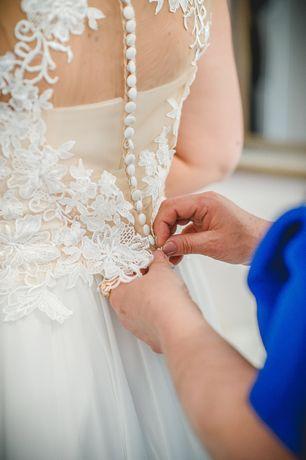 Suknia ślubna rozm. 42