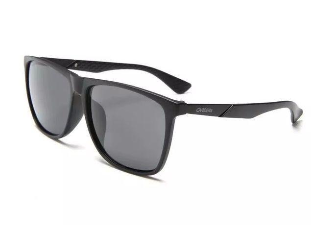 Carrera  preto matte wayfarer oculos de Sol