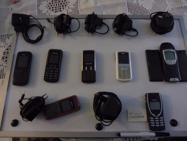 Lote de telemóveis antigos/ ler anuncio SFF