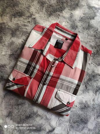 Стильная приталенная рубашка котон длинный рукав люкс качество