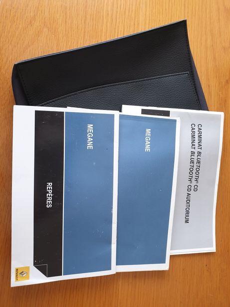 Livros manuais Renault Megane 3