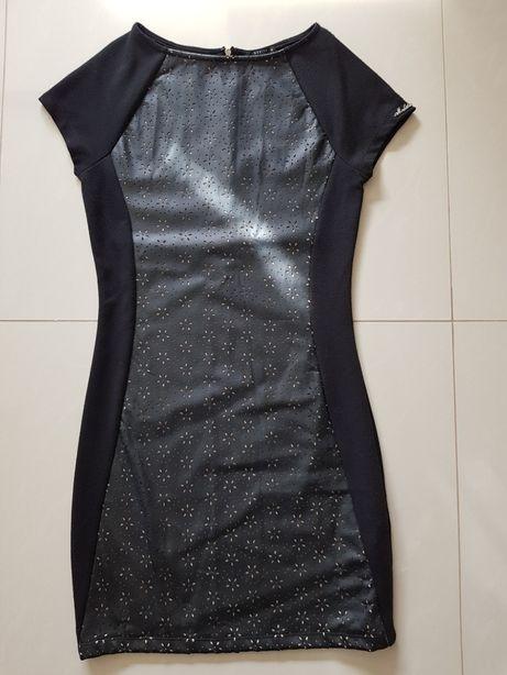 Mohito sukienka tunika czarna XS