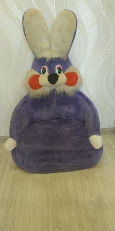 Продам детское мягкое кресло ЗАЯЦ!