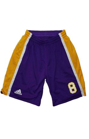 Adidas 8 Kobe Bryant L/XL spodenki do kosza koszykówki LA Lakers