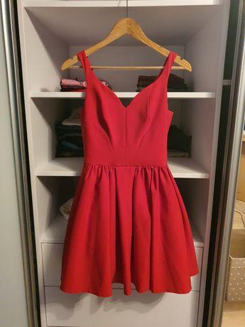 Czerwona sukienka Koko Moda