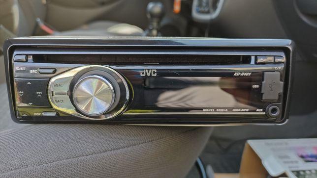 Radio samochodowe JVC z USB MP3