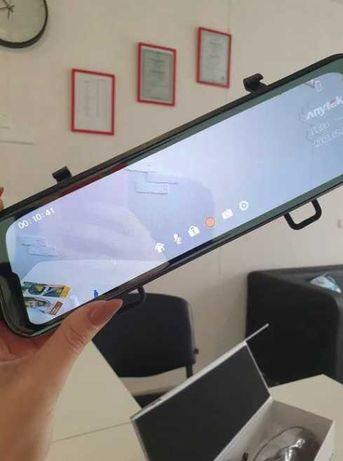 Зеркало - регистратор, Видеорегистратор Anytek T12 экран 9.66 дюймов