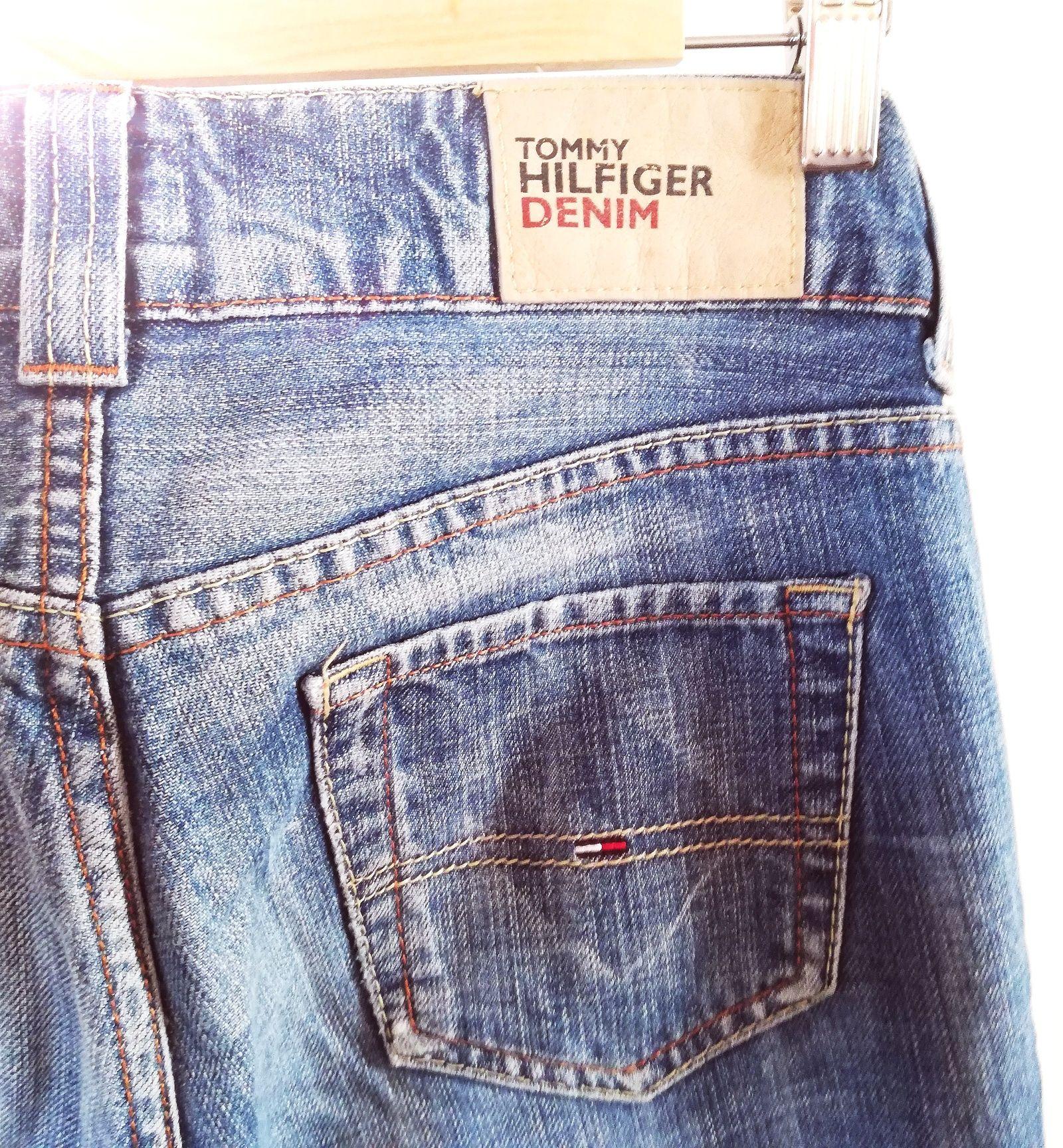 Spodnie jeansy Tommy Hilfiger Denim damskie